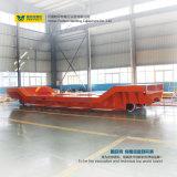 Indústria da fatura de papel vagão Trackless de transferência no assoalho do cimento