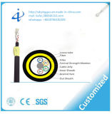 Cable óptico al aire libre de fibra de G652D ADSS con precio competitivo por el contador