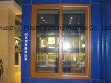 Perfil plástico energy-saving do indicador do PVC do vinil da vitrificação dobro