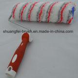 ролик акриловой краски 25cm Multicolor (красно & серо) с мягкой ручкой