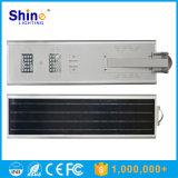 Lumière de route d'énergie solaire de la batterie au lithium 30W 40W 50W DEL