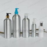 Frasco líquido Handwash de alumínio com a bomba da loção do distribuidor (PPC-ACB-025)