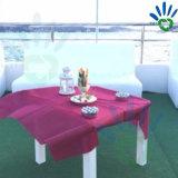 Tablecloth 100% não tecido da tela do Polypropylene da alta qualidade para o hotel /Wedding da exposição