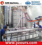 Linha de produção vertical do revestimento do pó para o perfil de alumínio
