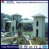 Camera prefabbricata di costruzione della struttura d'acciaio del blocco per grafici dell'indicatore luminoso dell'ampio respiro