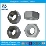 Steel inoxidável Ss304 Ss316 Hex Nut/4.8 Grade 8grade /Black Zinc Plated DIN934 A194 2h Hex Nut