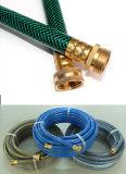 Boyau de jardin flexible de PVC pour le boyau d'irrigation de l'eau