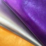 Rétro cuir synthétique de meubles de PVC d'unité centrale pour la couverture de portée de véhicule de sofas