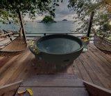 Tinas al aire libre del holandés del BALNEARIO de la tina caliente del Bbq del baño del calentador de la tina caliente