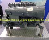 Motor diesel refrescado aire común del carril de Deutz (F6L912)