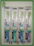 Toothbrush do adulto da cerda do chá verde