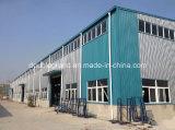Almacén prefabricado/taller de la estructura de acero con la estructura de azotea metálica