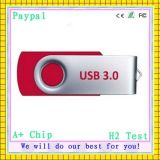 Flash USB Drivve (gc-663) du drive USB 256MB d'OEM Swivel Metal Gift Items