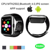 Telefone esperto do relógio para o Android e o Ios (K68H)