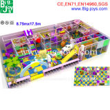 위락 공원 아이들의 실내 운동장 장난꾸러기 성곽 (BJ-IP37)