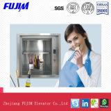 Elevatore della cucina del Dumbwaiter dell'elevatore del trasporto di velocità 0.5m/S di Capacity300kg