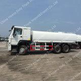HOWO 6X4 유로 II 물 물뿌리개 유조 트럭