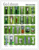 Lampe solaire d'herbe de la qualité DEL