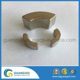 N42h Permanente die Magneten in de Vorm van de Boog in Motor wordt gebruikt