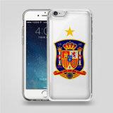 Nieuw Product voor Cel van de Ernst van de Druk van Samsung van iPhone de Transparante Anti/het Mobiele Geval van de Dekking van de Telefoon