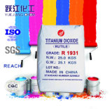 Líquido nano del dióxido Titanium del rutilo TiO2 con alta calidad