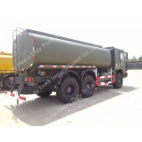 Sino HOWO 6X4 20000L camiones tanque de aceite combustible