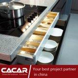 Lo spazio BMW di modo & saggio brilla armadio da cucina d'argento della lacca (CA09-12)