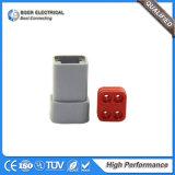 Conetores Dtp04-4p do descolamento do conetor de Deutsch do sensor das peças de automóvel auto