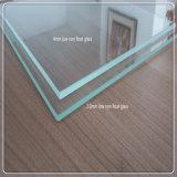 Alta calidad ultra vidrio del claro de flotador inferior claro/extraordinariamente del hierro