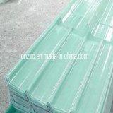 Hoja acanalada barata del material para techos de la luz del sol FRP del vidrio de fibra del precio