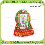 Ricordo promozionale personalizzato Hanbok (RC-KR) dei magneti del frigorifero della decorazione dei regali a casa