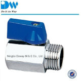 Mini d'ottone Ball Valve con ABS Handle