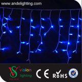 2*0.6m Gummi-Kabel-im Freienweihnachtseiszapfen-Zeichenkette-Licht