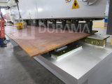 Da guilhotina hidráulica 16X3200mm máquina QC11y da placa do corte de aço e de estaca