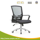 Ergonómica medio del acoplamiento trasero de la silla (B658 Negro)