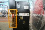 Máquina de dobra da chapa de aço de Wc67y-250t6000mm, máquina do freio da imprensa, máquina de dobra da folha com 2 anos de garantia