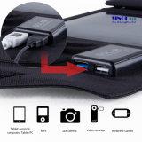 14W 5V/18V Draagbare Lader die de ZonneLader van het Zonnepaneel met Facultatieve USB, de Output van gelijkstroom vouwen (fsc-14B)