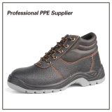 Обувь безопасности впрыски PU двойной плотности дешевая