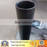 Tubulação de aço da seção oca redonda preta estrutural