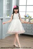 Ropa de los niños de princesa Style Organza Slip Dress