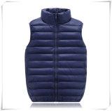 Para baixo dos invernos das crianças do veludo de algodão do revestimento da veste revestimento 604 para baixo