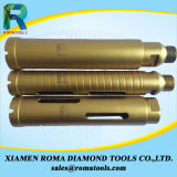 Los dígitos binarios de taladro de la base del diamante de Romatools para refuerzan el concreto, granito