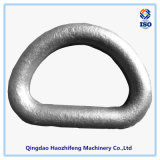 D-vormige ring van uitstekende kwaliteit van de Sloten van het Koolstofstaal de Gesmede