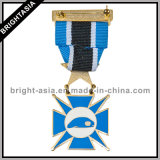 Military su ordinazione Awards Metal Medal con Ribbon (BYH-10837)