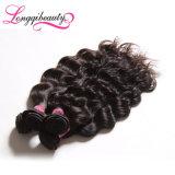 Отсутствие волос химически Unprocessed сырцовой индийской девственницы волнистых