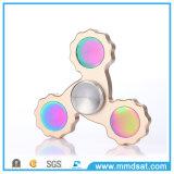 선물 장난감을%s 다채로운 금속 삼각형 싱숭생숭함 방적공