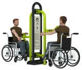 Equipo al aire libre constructivo invalidado diversión de la aptitud de Handicaped del parque de la gimnasia