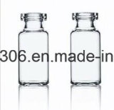tubo de ensaio de vidro ambarino do friso 2ml