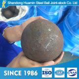 Bola de pulido caliente del diámetro 20-150m m de las ventas para la fábrica de Refranctory