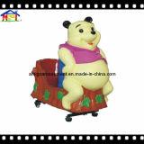 幼い子供幸せなくまの子供の乗車のための電気振動乗車